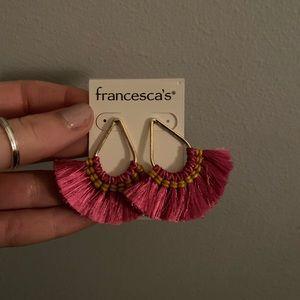 Francesca's Earrings - Super fun!